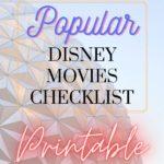 popular disney movies checklist