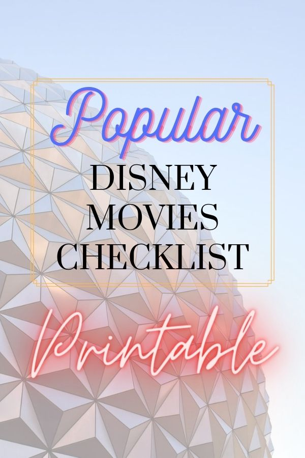 popular disney movies