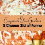 five cheese ziti recipe