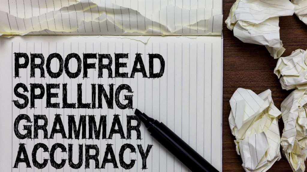 ways to make money from home - proofreading jobs online