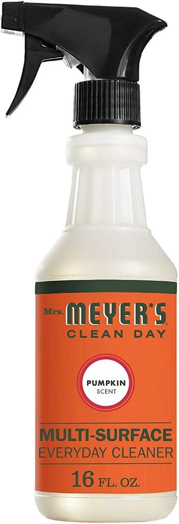 pumpkin spice multi-purpose cleaner