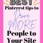 best pinterest tips