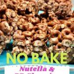 nutella and peanut butter snack recipe