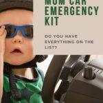 mom car emergency kit