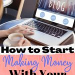 start making money with your blog