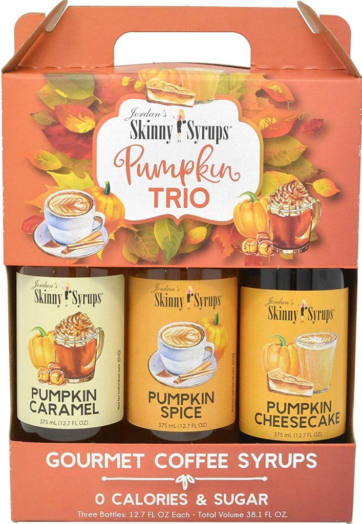 pumpkin spice coffee syrups