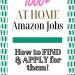 amazon at home jobs