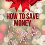 start saving money for the holiday season
