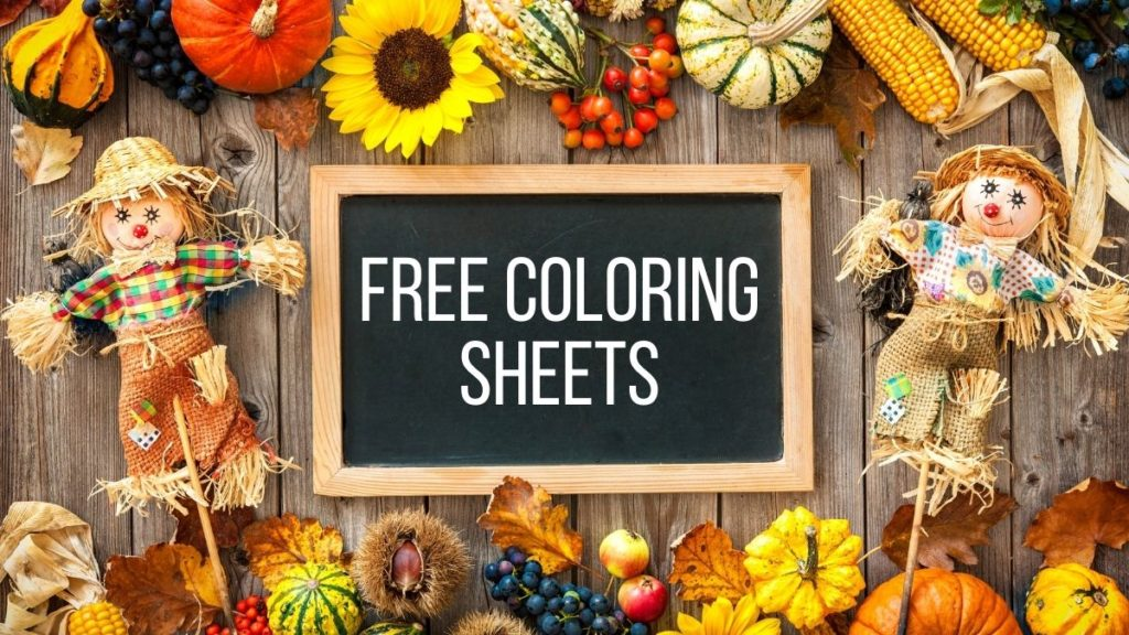 free thanksgiving color sheets for toddlers
