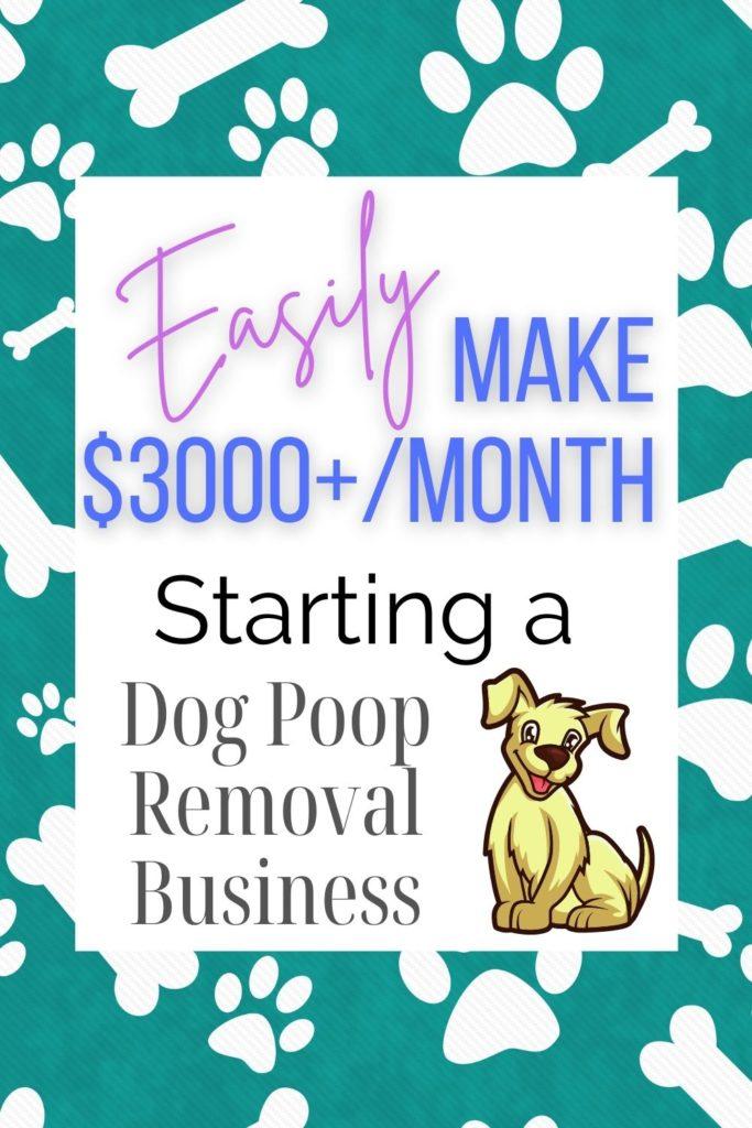 dog poop removal services