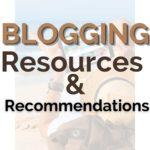blogging recommendations