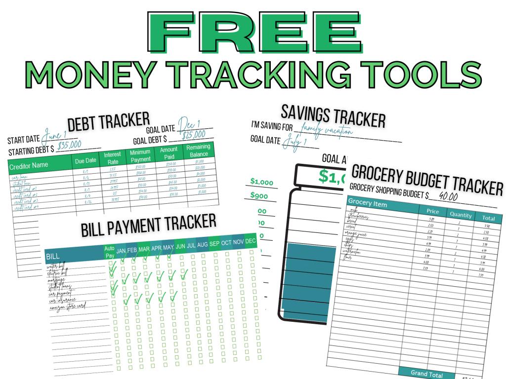 free money tracking tools