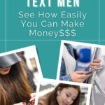 get paid to text men